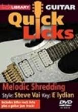 "Andy James ""Quick Licks: Melodic Shredding, Steve Vai"""