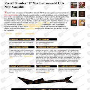 Guitar Nine 1998