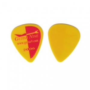 Guitar Nine 2006 Logo Red/Yellow