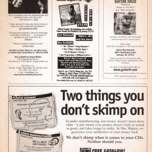 Guitar World Ad, 1997 (#1)