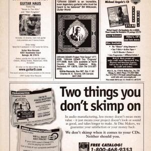 Guitar World Ad, 1997 (#2)