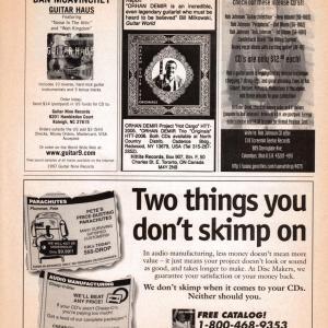Guitar World Ad, 1997 (#3)
