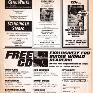 Guitar World Ad, 1997 (#5)