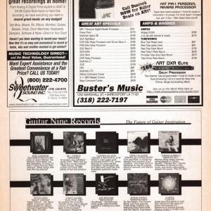 Guitar World Ad, October 1998
