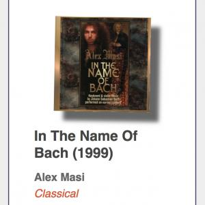 "#12: Alex Masi ""In The Name Of Bach"""