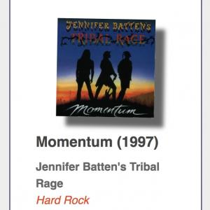 "#13: Jennifer Batten`s Tribal Rage ""Momentum"""
