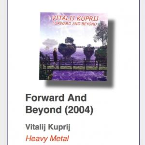 "#21: Vitalij Kuprij ""Forward And Beyond"""
