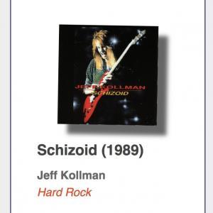 """#23: Jeff Kollman """"Schizoid"""""""