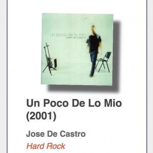 """#26: Jose De Castro """"Un Poco De Lo Mio"""""""
