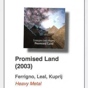 "#27: Ferrigno, Leal, Kuprij ""Promised Land"""