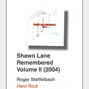 "#37: Shawn Lane Remembered ""Volume II"""
