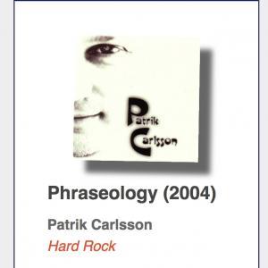 "Patrik Carlsson ""Phraseology"" CD"