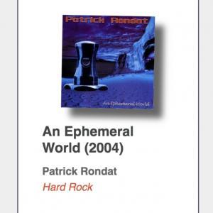 "#64: Patrick Rondat ""An Ephemeral World"""