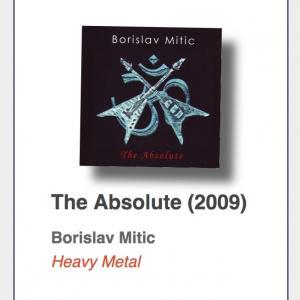 "#89: Borislav Mitic ""The Absolute"""